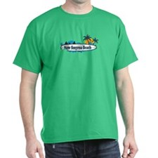 New Smyrna Beach - Surf Design. T-Shirt