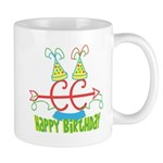 Cross Country Birthday Mug - right