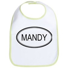 Mandy Oval Design Bib