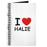 I love Halie Journal