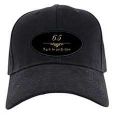 65th Birthday Aged To Perfection Baseball Hat