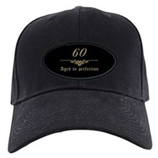 60th Birthday Aged To Perfection Baseball Hat
