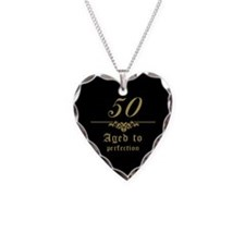 Fancy 50th Birthday Necklace