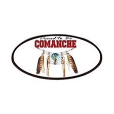 Proud to be Comanche Patches