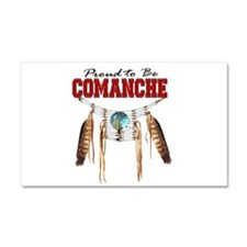 Proud to be Comanche Car Magnet 20 x 12