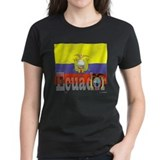 Silky Flag of Equador Tee