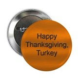 Happy Thanksgiving Turkey Button