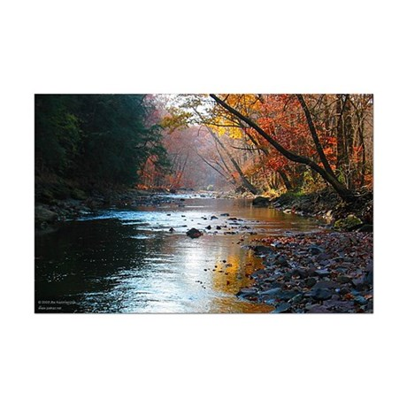 Wickecheoke Creek Poster Print