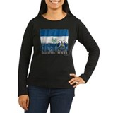 Silky Flag of El Salvador T-Shirt
