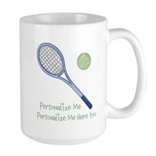 Personalized Tennis Coffee Mug