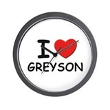 I love Greyson Wall Clock