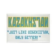 Kazakhstan Is Better! Rectangle Magnet (100 pack)