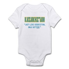 Kazakhstan Is Better! Infant Bodysuit