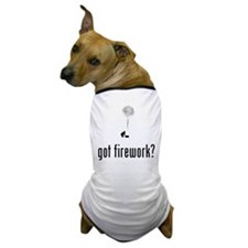 Pyrotechnician Dog T-Shirt