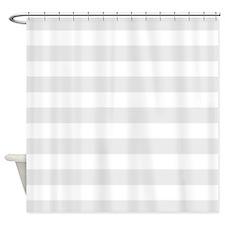 Horizontal stripe shower curtains gray and white horizontal stripe
