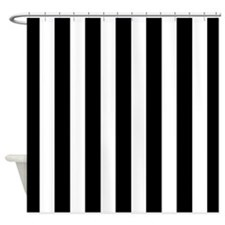 Black And White Vertical Striped Curtains Black and White Vertical Stripe