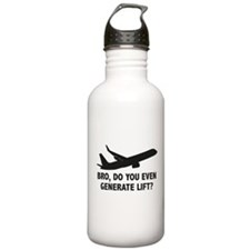 Bro, Do You Even Generate Lift? Water Bottle