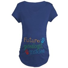 Genealogist Maternity T-Shirt