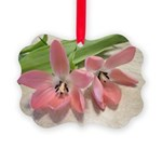 Pink Tulips In Bloom Ornament