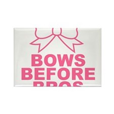 bows before bros Rectangle Magnet