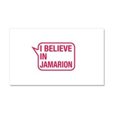I Believe In Jamarion Car Magnet 20 x 12