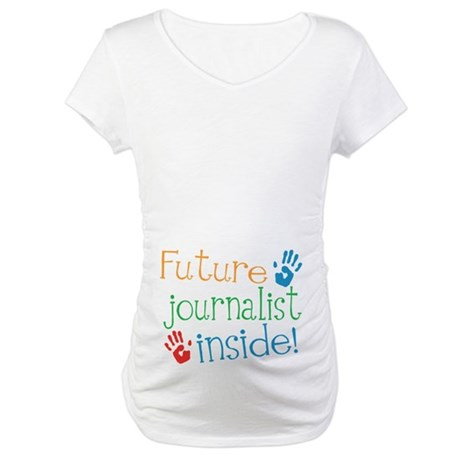 Journalist Maternity T-Shirt