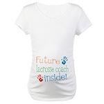 Lacrosse Coach Maternity T-Shirt