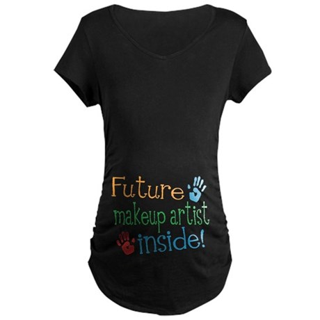 Makeup Artist Maternity T-Shirt