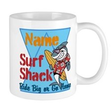 Custom surf shack Mug