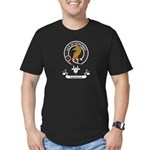 Badge - Fullerton Men's Fitted T-Shirt (dark)
