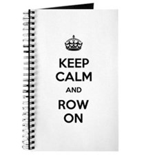 Keep Calm and Row On Journal