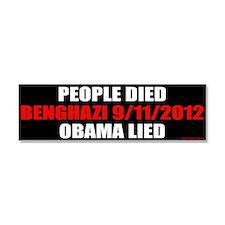 Unique Obama lied Car Magnet 10 x 3