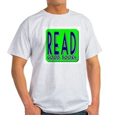 Read Good Books Ash Grey T-Shirt