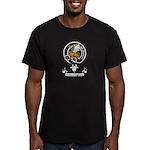 Badge - Fotheringham Men's Fitted T-Shirt (dark)