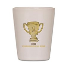 Personalized Trophy Shot Glass