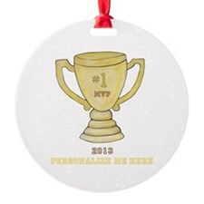 Personalized Trophy Ornament