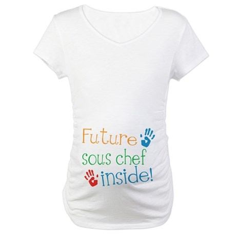 Sous Chef Maternity T-Shirt