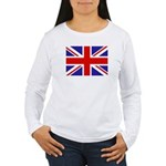 British Flag Women's Long Sleeve T-Shirt