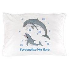 Personalized Dolphin Pillow Case