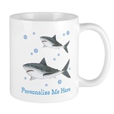Personalized Shark Mug