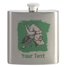 Viking with Custom Text. Flask