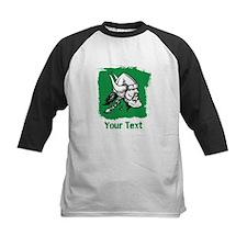 Viking with Custom Text. Baseball Jersey