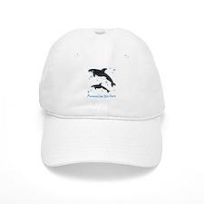 Personalized Killer Whale Baseball Cap