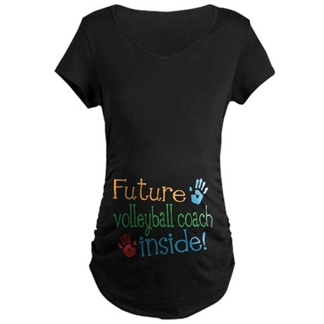 Volleyball Coach Maternity T-Shirt