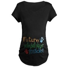 Volleyball Player Maternity T-Shirt
