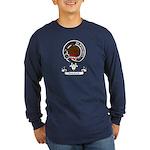 Badge - Darroch Long Sleeve Dark T-Shirt
