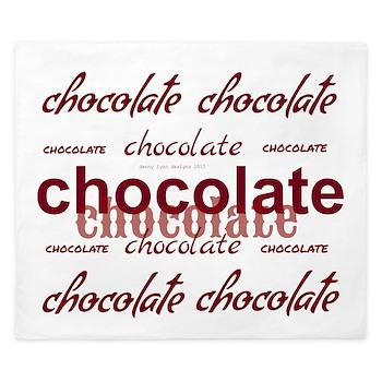Celebrate Chocolate King Duvet