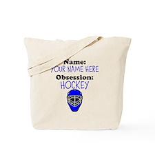 Custom Hockey Obsession Tote Bag