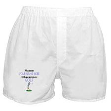 Custom Golf Obsession Boxer Shorts