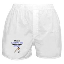 Custom Cricket Obsession Boxer Shorts